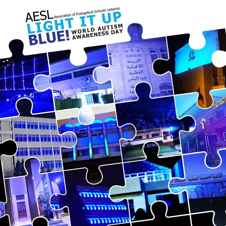 AESL Commemorates World Autism Awareness Day – Light it Up Blue Campaign